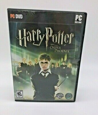 Harry Potter and the Order of the Phoenix PC game w/instructions with code, 2007