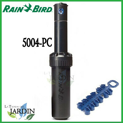 "Aspersor Rain Bird 5004 Pc Aspersores 5000 Rosca 3/4"" 7,6 A 15,2M Rainbird Riego"