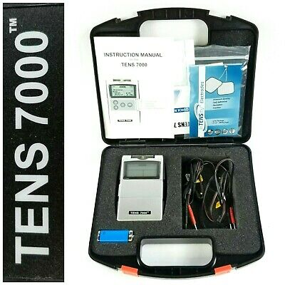 Tens 7000 Unit Electrical Stimulation Massage Machine Therapy Pain Relief
