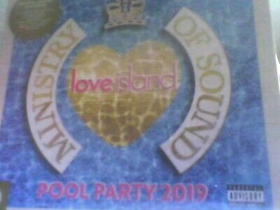 MOS Love Island: Pool Party 2019 - Ministry Of Sound [CD] new sealed free post