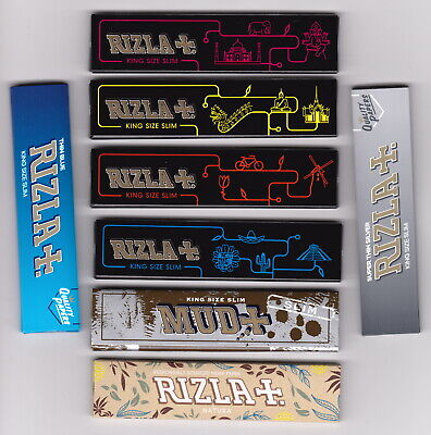 8 different King Size Cigarette Rolling Papers