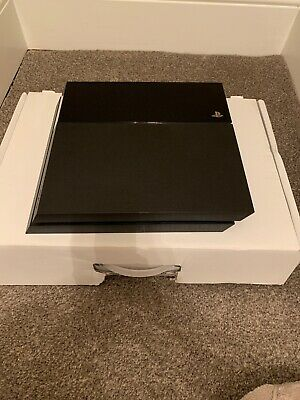 Sony PlayStation 4 500GB Console - Jet Black PS4
