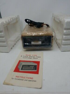 Vintage Electrophonic  8 Track Tape Player Stereo Deck NEW