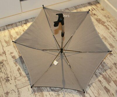Stunning Genuine Joolz Grey Sun Parasol Umbrella  Co-Ordinates With Day Ex Con