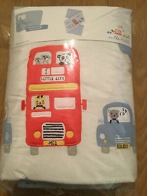 Mothercare On The Road Cot Bumper Also For A Cot Bed  *** Bnip ***