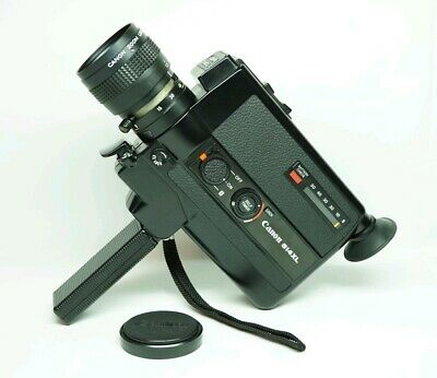 Canon 514XL Super 8 8mm Movie Camera C8 Zoom Lens • FILM TESTED • USA