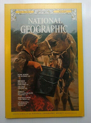 National Geographic Magazine May 1978 Robyn Davidson Alone Across The Outback