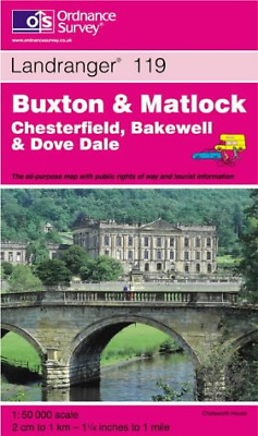 Buxton and Matlock, Bakewell and Dove Dale (Landranger Maps), Ordnance Survey, G