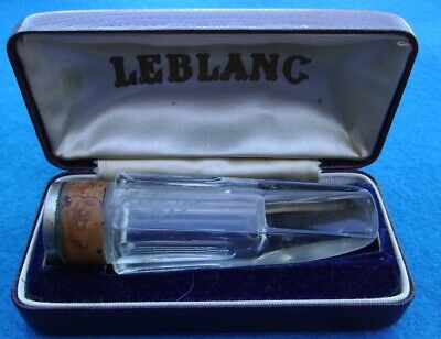 Vintage Crystal Glass Mouthpiece - LeBlanc? Maybe  Clarinet ?