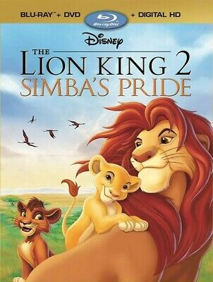 The Lion King 2 - Simba's Pride on Blu-ray Disc and DVD