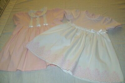 Baby girls clothes 2 Emile et Rose dresses aged 6m - combined postage available