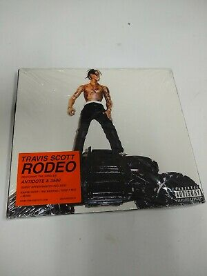 Rodeo [PA] [Slipcase] by Travis Scott (CD,Epic)+ fast shipping!!