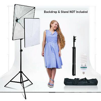 Photography Softbox Lighting Stand Photo Equipment Soft Box Studio Light Kit