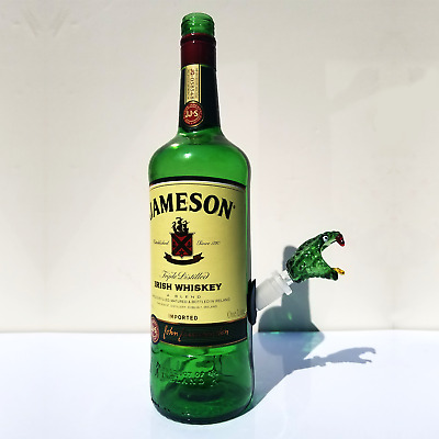 Jameson Waterpipe 100% Upcycled Bong Pack (Bowls, Grinder, Stickers, Hemp Wick)