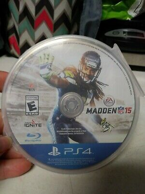 Madden NFL 15 (Sony Playstation 4 PS4, 2014) Disc Only