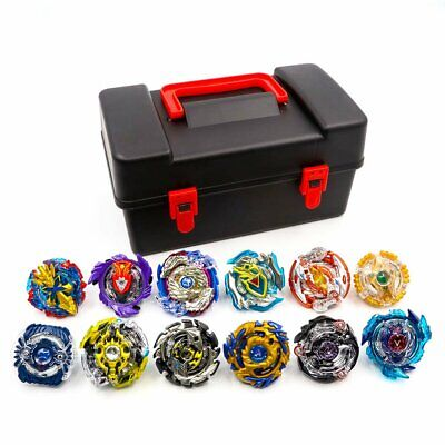 8/12pcs Beyblade Burst Evolution Arena Launcher Battle Platform Stadium Toy+Box