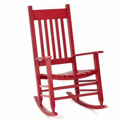 Red Wood Knollwood Kid's Rocking Chair Child
