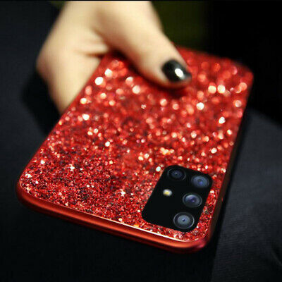 Bling Glitter Diamond Sparkle Shockproof Hard Case Cover For iPhone For Samsung