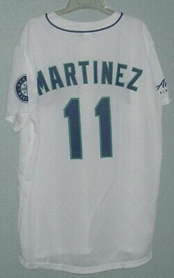 Seattle Mariners #11 Edgar Martinez Replica Jersey Sga Lightweight Youth L
