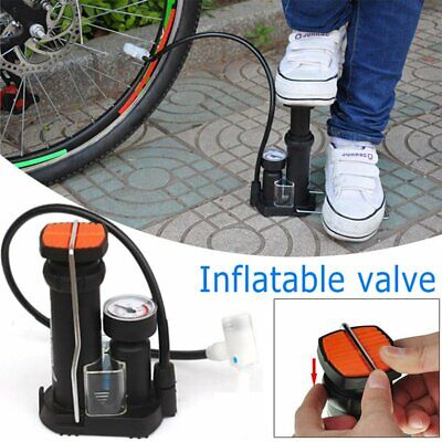 MTB Bike Mini Pump for Mountain and Road Tyre Tire Air Pressure Gauge