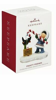 Hallmark Keepsake 2019 Frosty Friends Dated Ornament