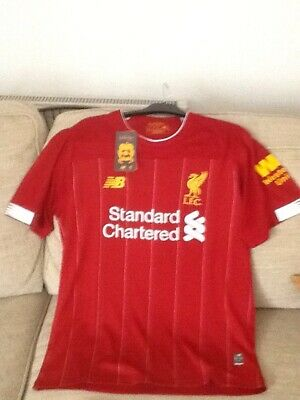 Liverpool Home Shirt 2019/20  BNWT Size Large Mans