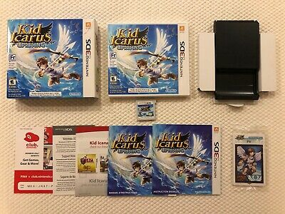 Kid Icarus : Uprising ( Nintendo 3DS ),Complete in Box