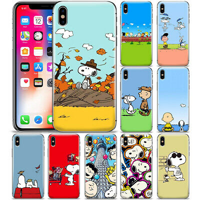 Peanuts Cartoon Snoopy Pattern Ultra Thin Phone Case Cover For Apple iPhone