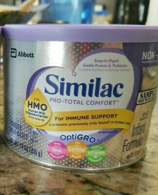 New! Sealed! Similac Pro-Total Comfort Formula- 2 cans-7.6oz each- exp.2020