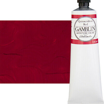 Gamblin Artist's Oil Color 150 ml Tube - Quinacridone Red