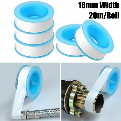 1 Roll Plumbing Fitting Thread Seal Tape 18mm*20m For Water Pipe