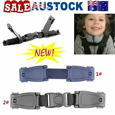 Car Safety Seat Strap Chest Clip Buggy Harness Lock Buckle Highchairs OD