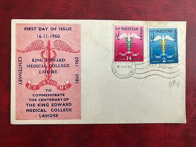 Pakistan 1960 King Edward Medical College First Day Cover