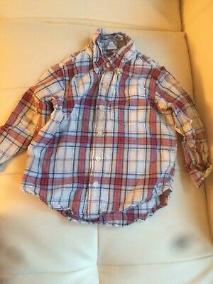 Baby Gap 4 years toddler Boys' Button-Up Long Sleeve Shirt