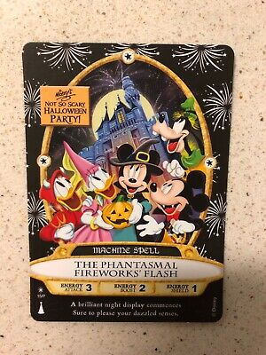 Disney Parks 2019 MNSSHP Halloween Party Sorcerers Of The Magic Kingdom Card