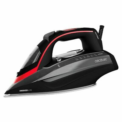 Steam Iron Cecotec 3D ForceAnodized 950 Smart i-Pump 400 ml 3100W Black Red