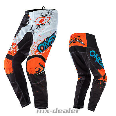 2020 O'Neal Element Impact Orange Black Hose  mx motocross Enduro Quad Crosshose