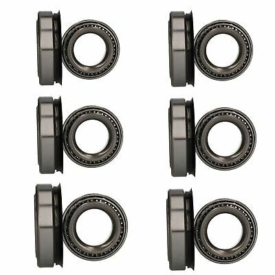 6 x Wheel Bearing Kit for Indespension 3500kg Tri-Axle Flatbed Dropside Trailer
