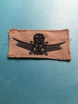 Military US Air Force Master Command Space Uniform Badge Subdued #K54