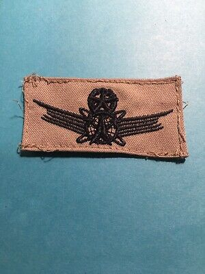 Military US Air Force Master Command Space Uniform Badge Subdued #K55