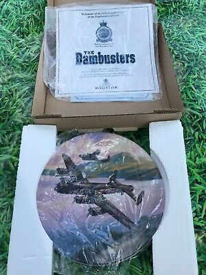 Royal Worcester The Dambusters Collection Plate