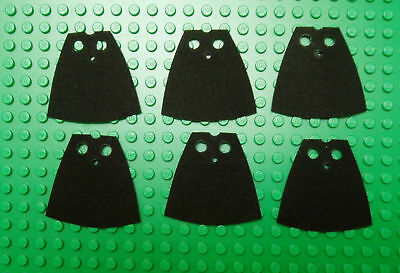 pick 1 custom made to fit  lego minifigs cape red blue purple yellow brown black