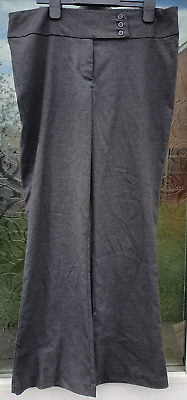 John Lewis Girls Grey School Trousers Age 15 RRP £17