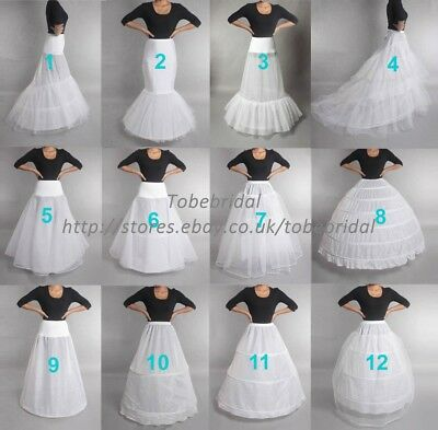 Wedding Petticoat Slip Crinoline Underskirt Under dress Bridal Dress Hoop