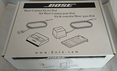 BOSE 315527-0020 WAVE CONNECT KIT WITH REMOTE for iPOD iPHONE Brand New In Box