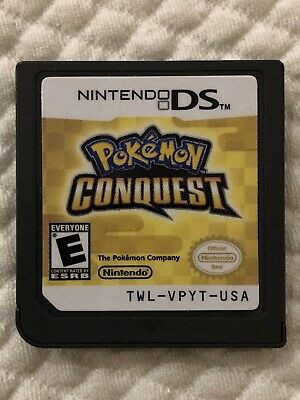 Pokemon Conquest ( Nintendo DS ), Cartridge Only