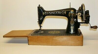 Antique Old Vintage Hand Crank Singer sewing machine Model 66K Y1045595