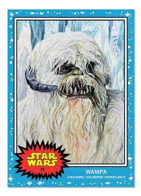 2019 Topps Living #24 Wampa The Empire Strikes Back ESB A New Hope Star Wars PS