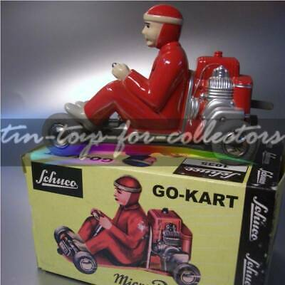 Schuco Lilliput Go-Kart Micro Racer Red Colour  Wind Up With Box + Key