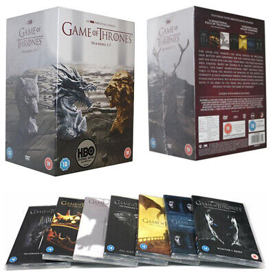 UK Game Of Thrones The Complete Season 1-7 New & Sealed DVD Boxset 1 2 3 4 5 6 7